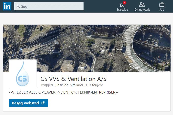 C5 VVS & Ventilation på LinkedIn